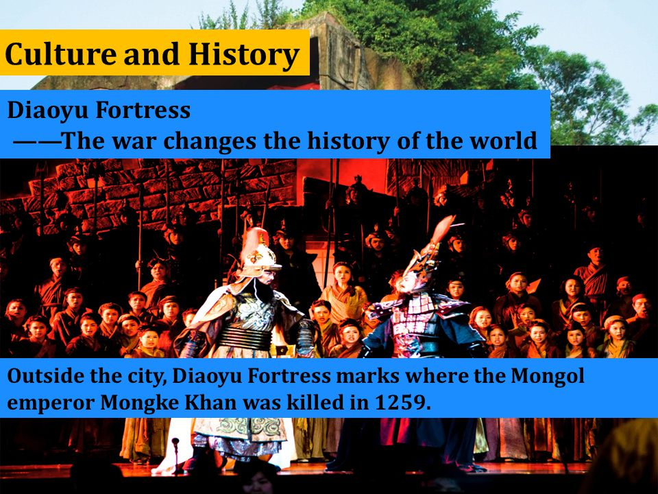 Culture and History Diaoyu Fortress