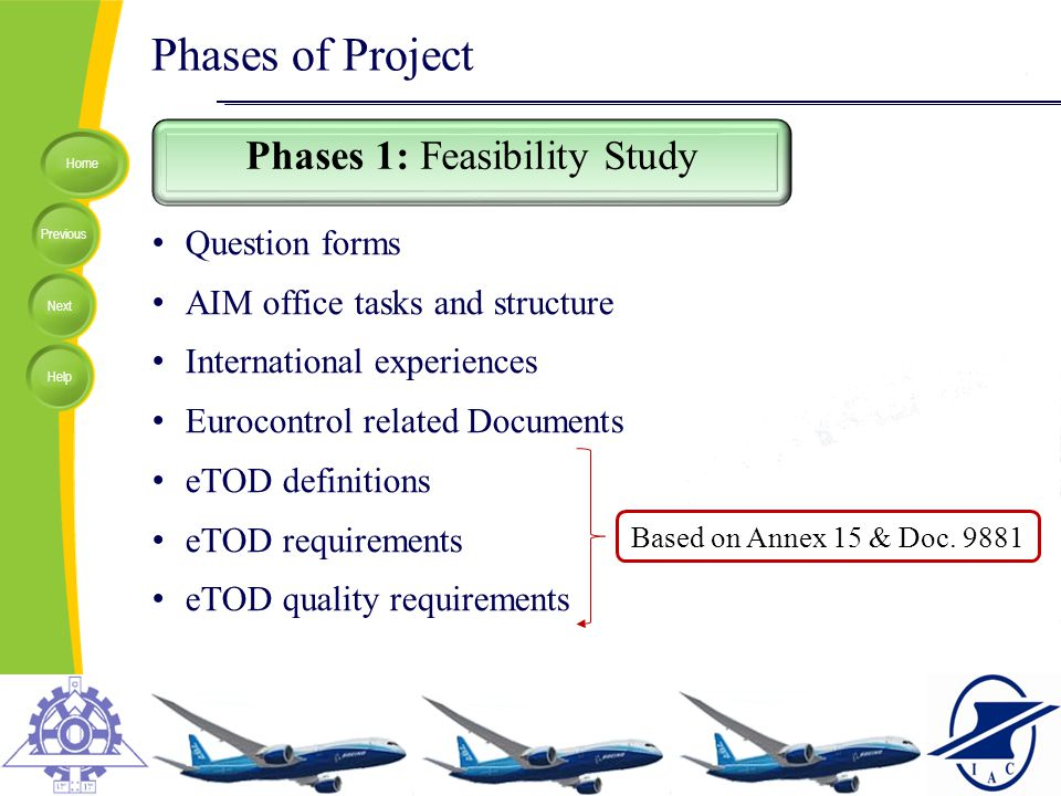Phases 1: Feasibility Study