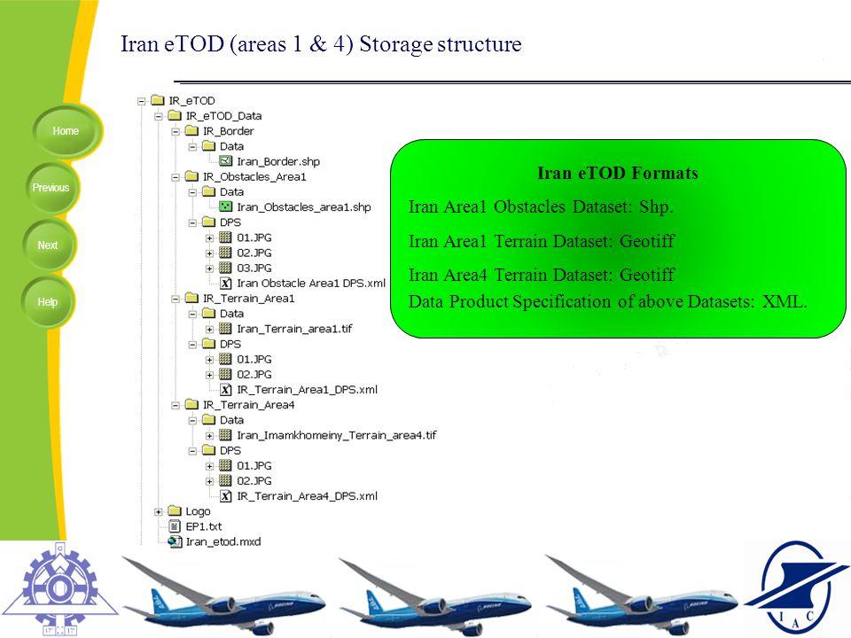 Iran eTOD (areas 1 & 4) Storage structure