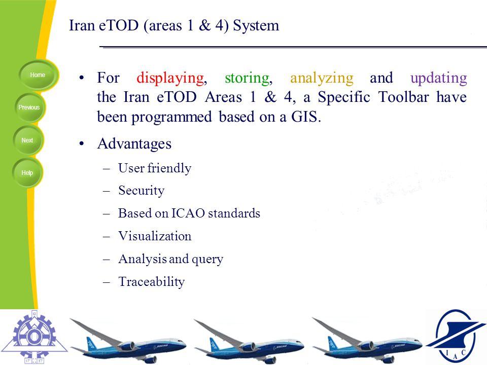 Iran eTOD (areas 1 & 4) System