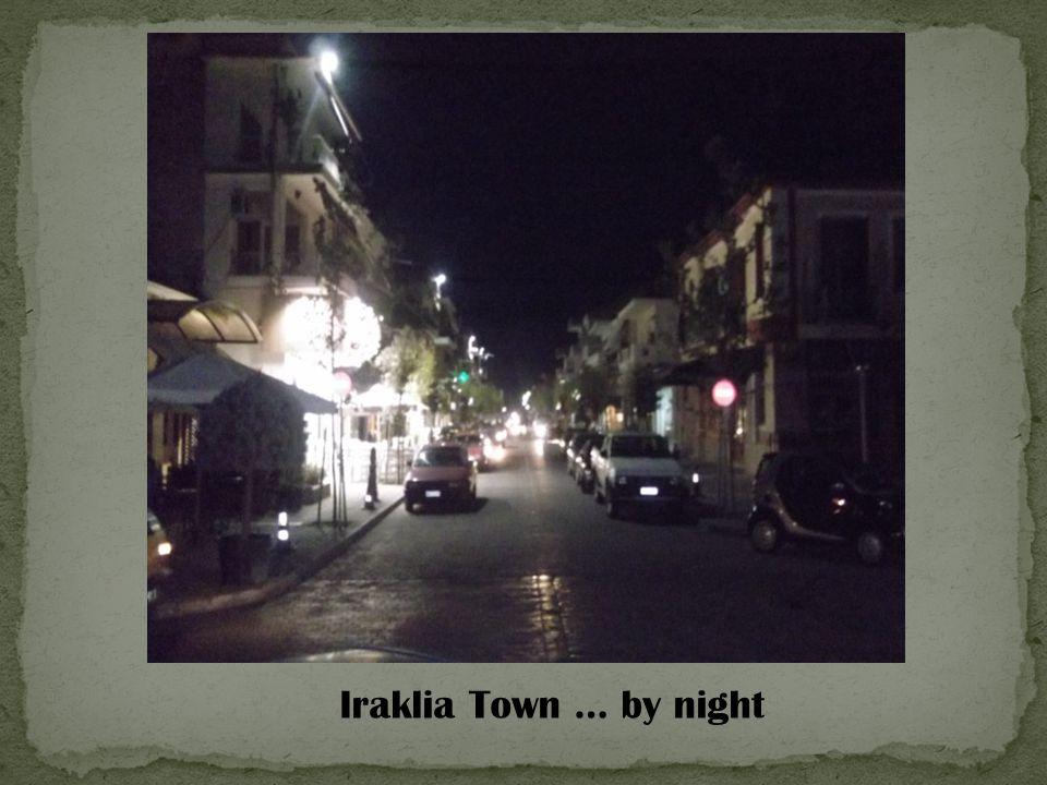 Iraklia Town … by night
