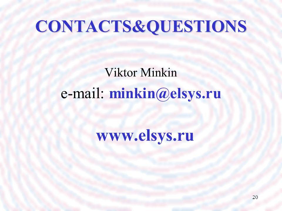 e-mail: minkin@elsys.ru