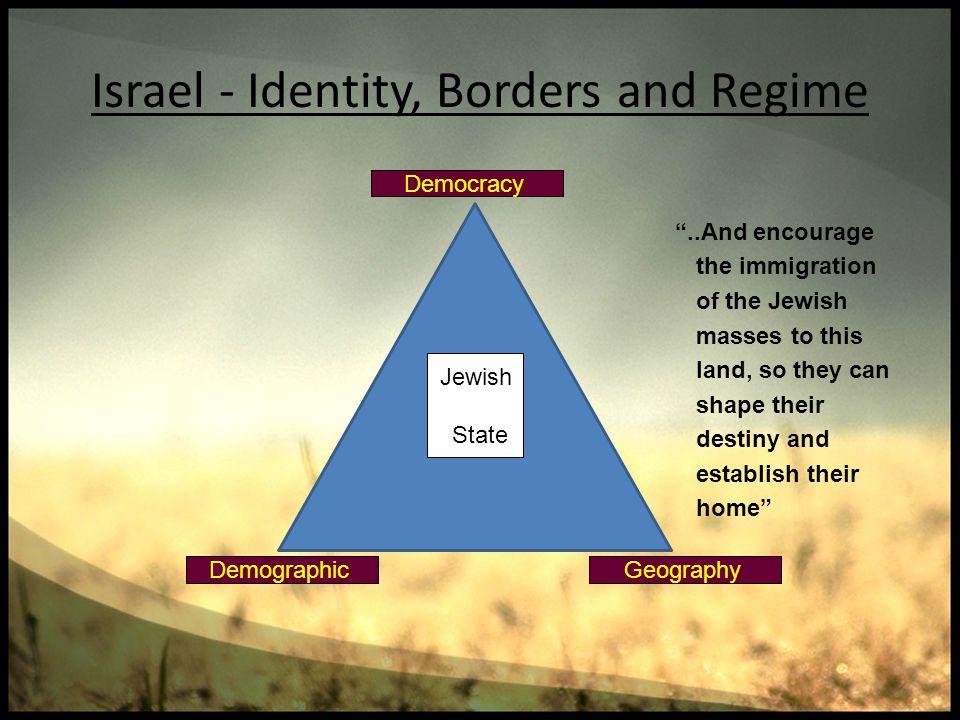Israel - Identity, Borders and Regime