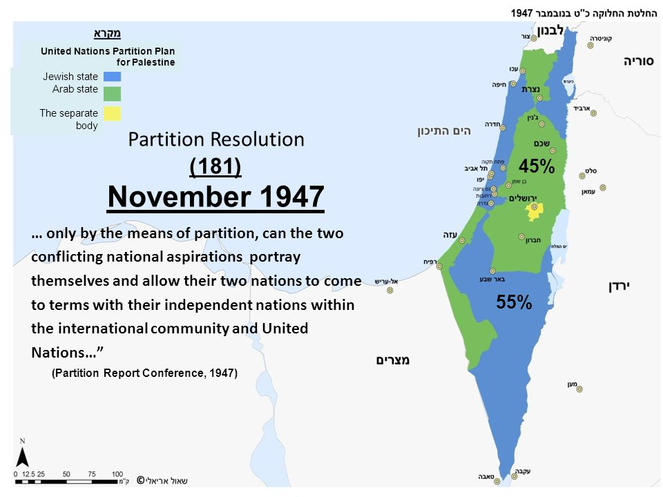 Partition Resolution (181) November 1947