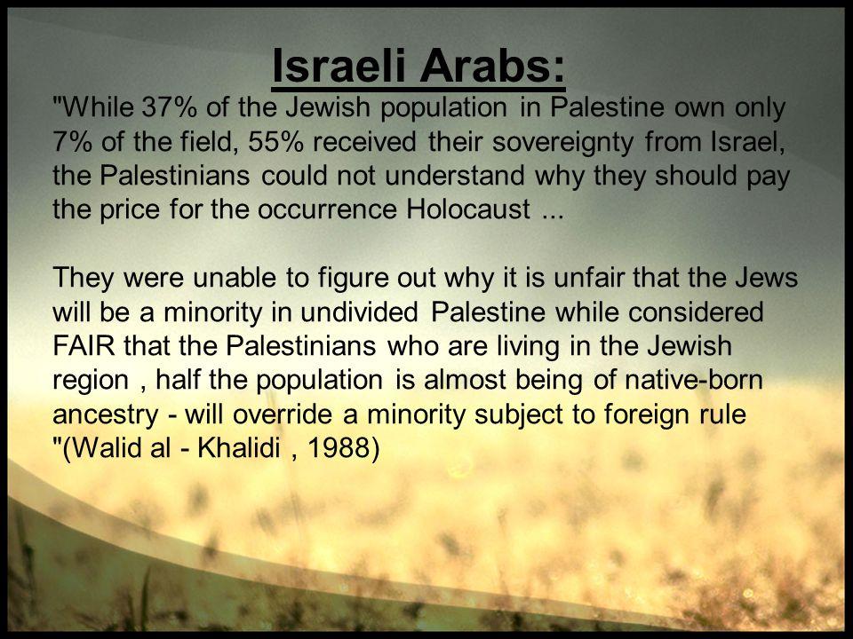 Israeli Arabs: