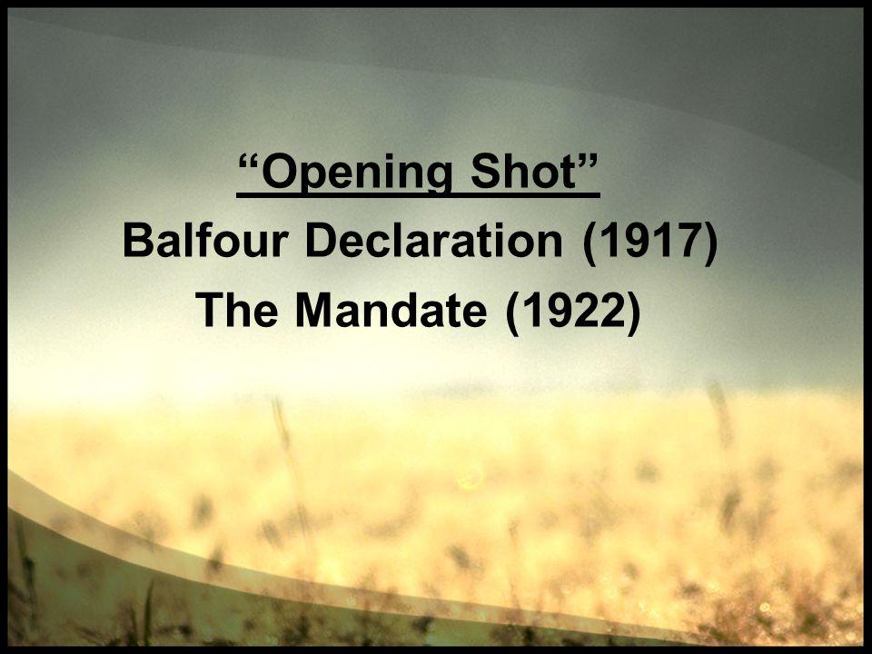 Balfour Declaration (1917)