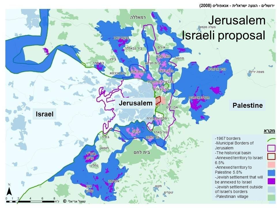 Jerusalem Israeli proposal