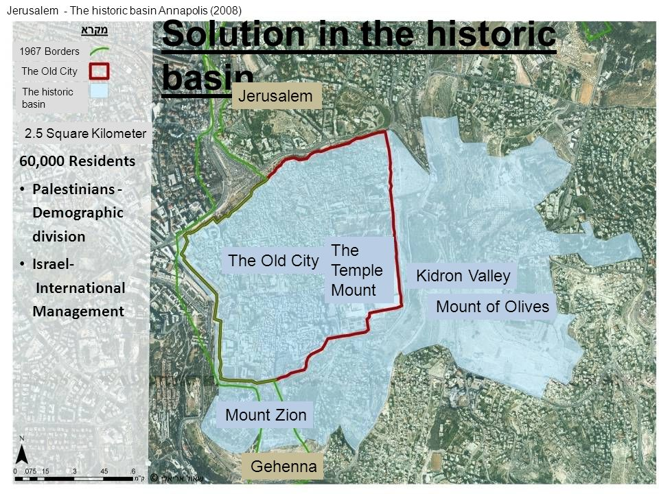Solution in the historic basin
