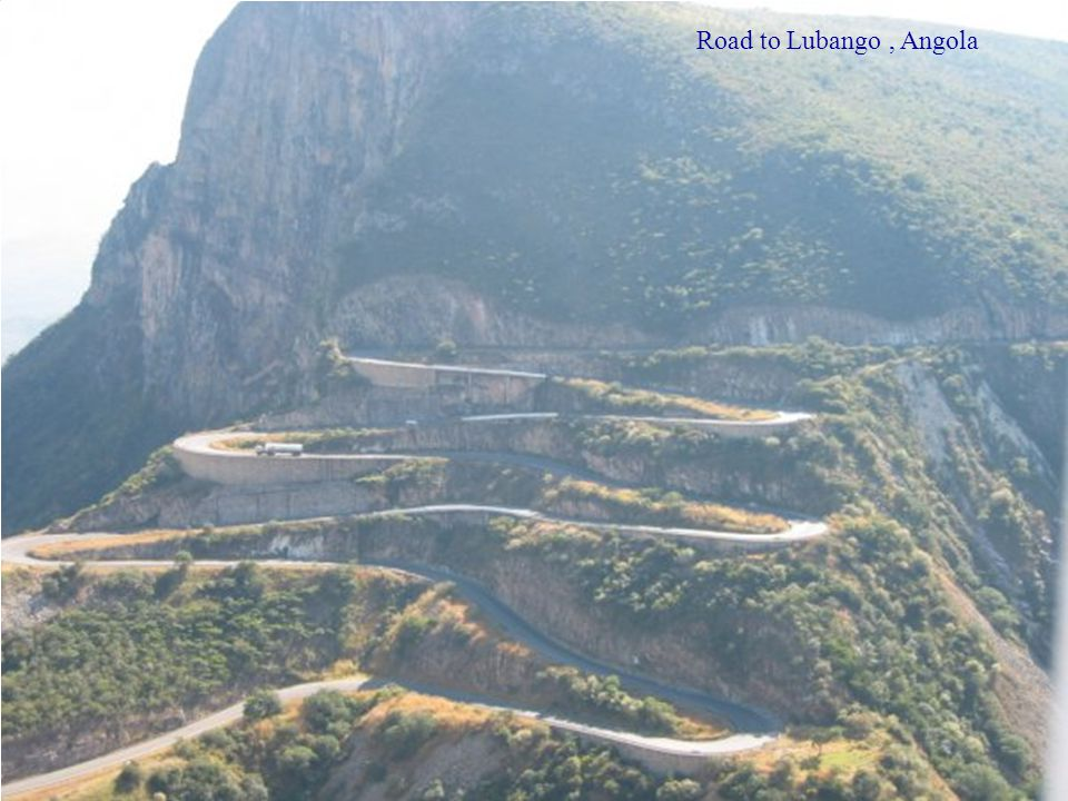 Road to Lubango , Angola