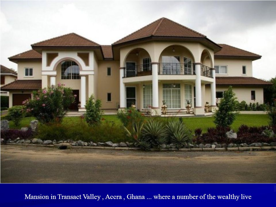 Mansion in Transact Valley , Accra , Ghana