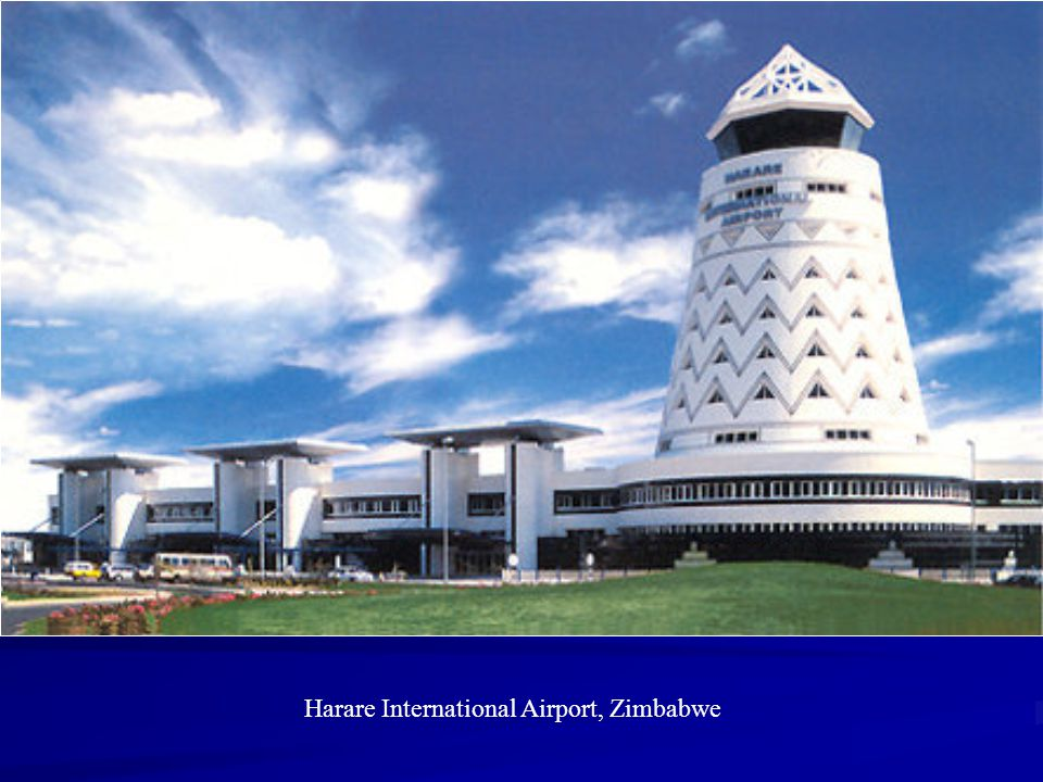 Harare International Airport, Zimbabwe