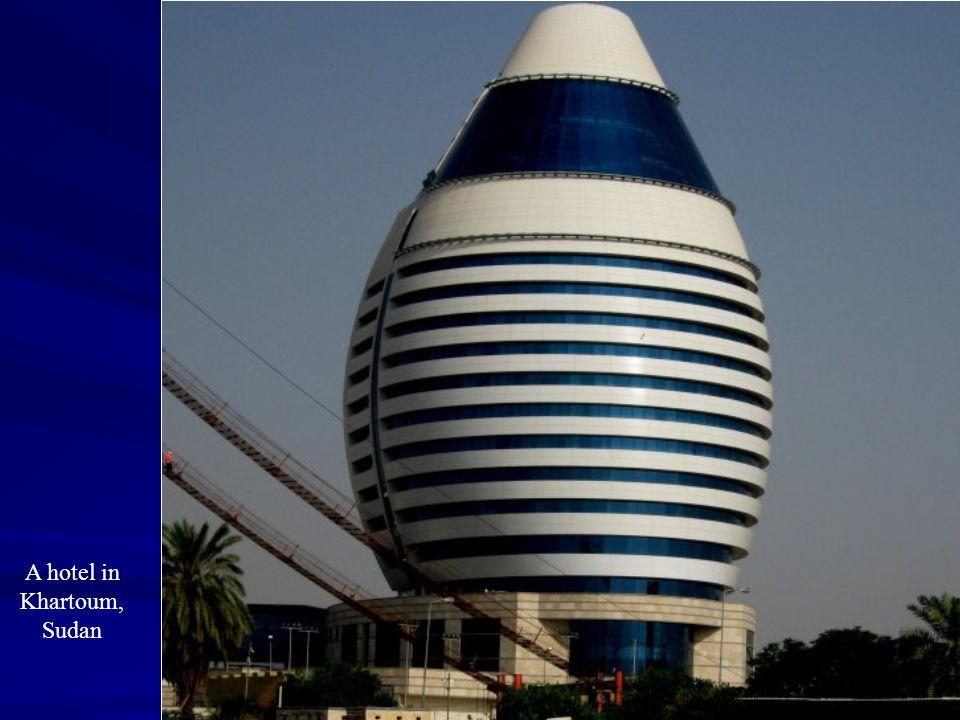 A hotel in Khartoum, Sudan