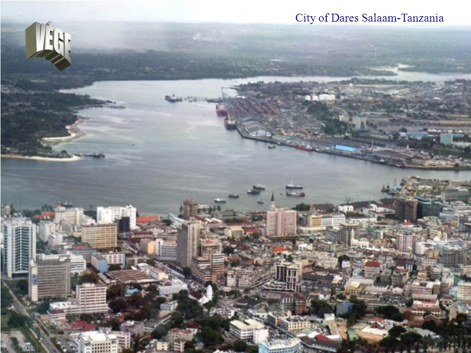 City of Dares Salaam-Tanzania