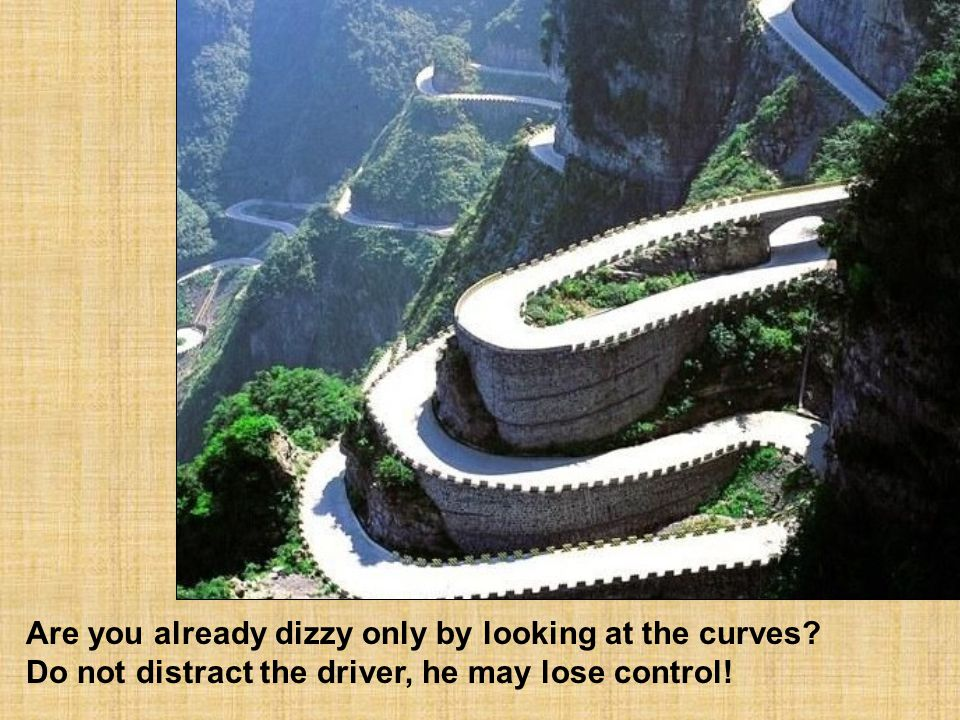 Are you already dizzy only by looking at the curves
