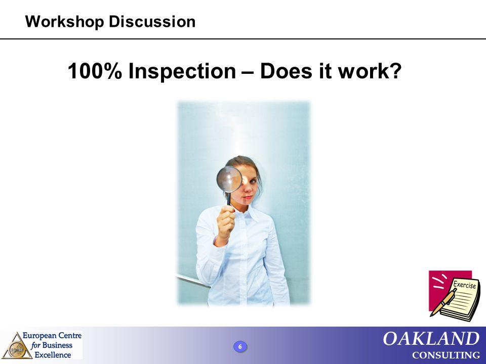 100% Inspection – Does it work