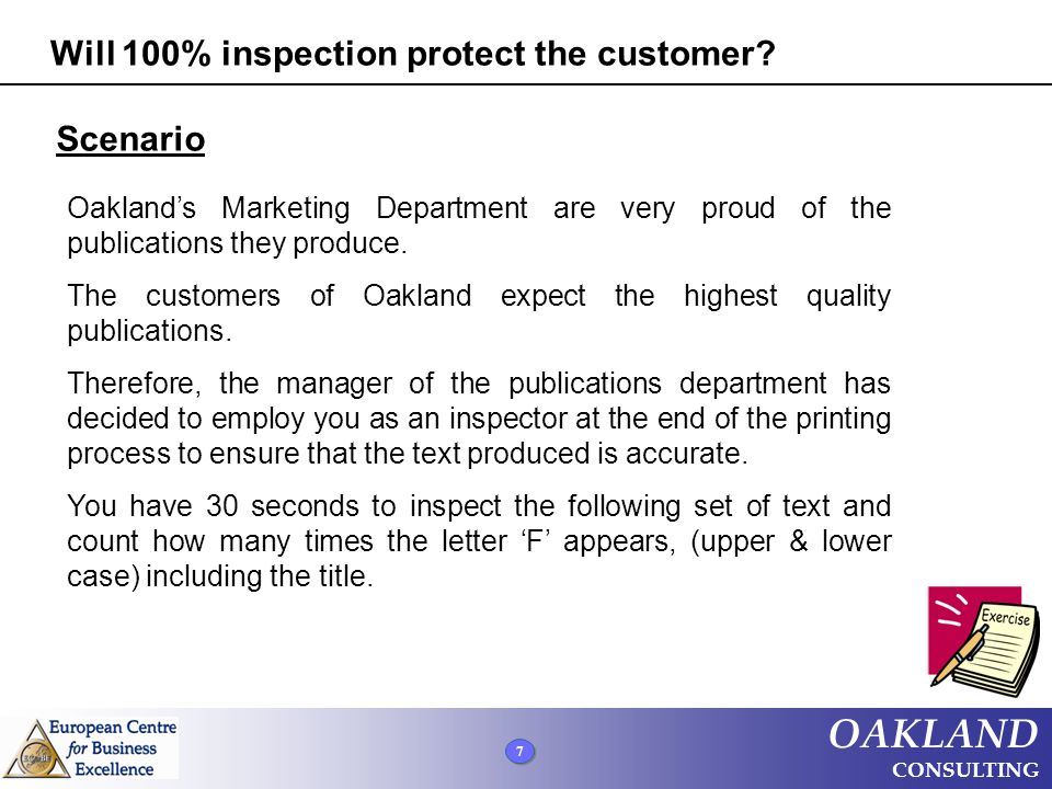 Will 100% inspection protect the customer