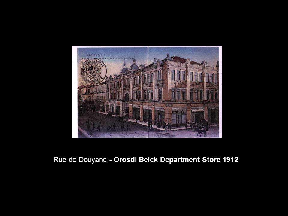 Rue de Douyane - Orosdi Beick Department Store 1912