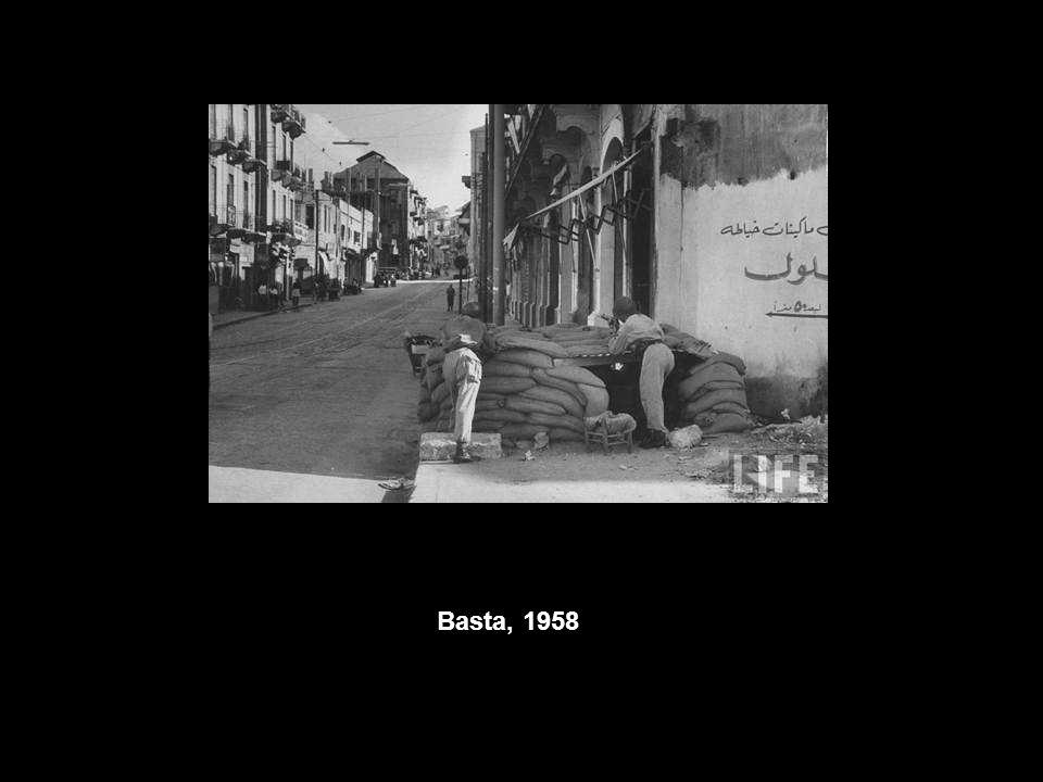 Basta, 1958