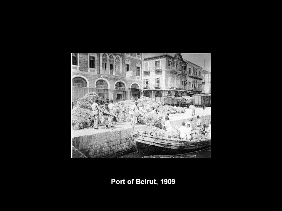 Port of Beirut, 1909