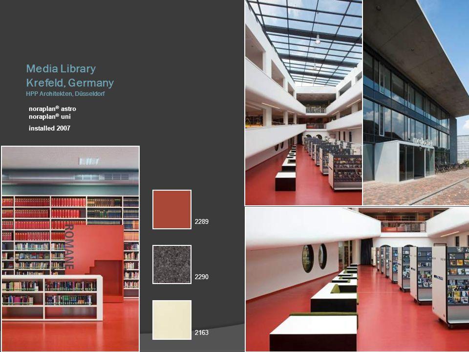 Media Library Krefeld, Germany HPP Architekten, Düsseldorf