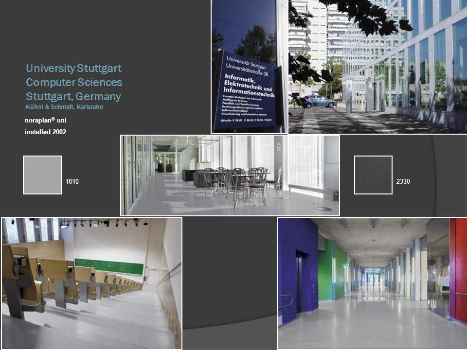 University Stuttgart Computer Sciences Stuttgart, Germany Kühnl & Schmidt, Karlsruhe