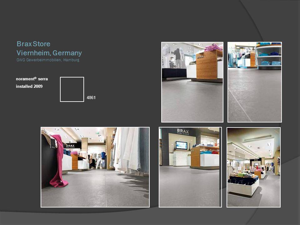 Brax Store Viernheim, Germany GWG Gewerbeimmobilien, Hamburg