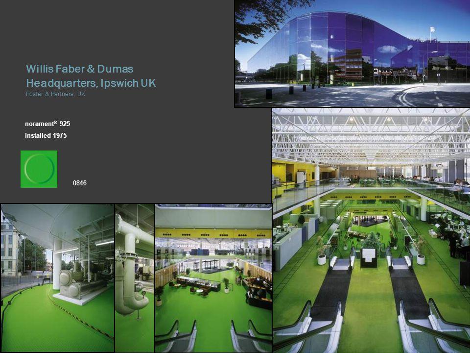 Willis Faber & Dumas Headquarters, Ipswich UK Foster & Partners, UK