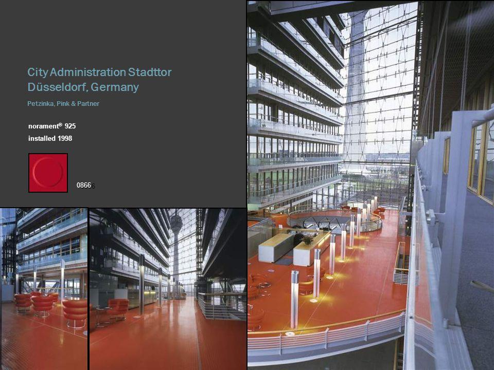 City Administration Stadttor Düsseldorf, Germany