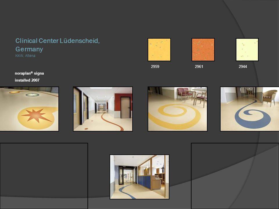 Clinical Center Lüdenscheid, Germany KKW, Altena