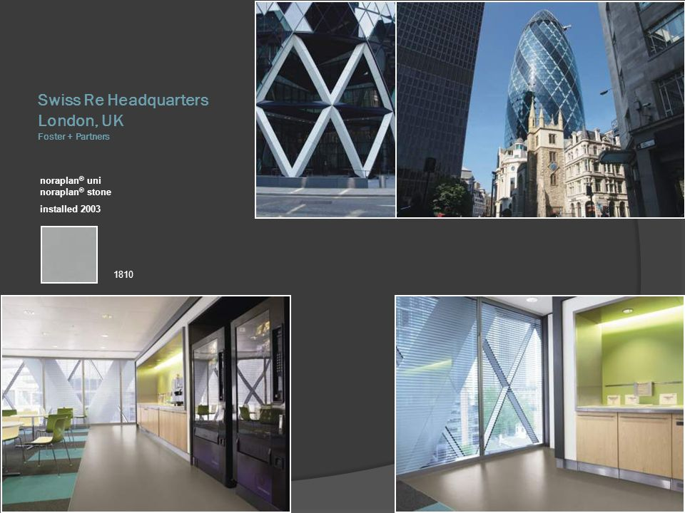 Swiss Re Headquarters London, UK Foster + Partners