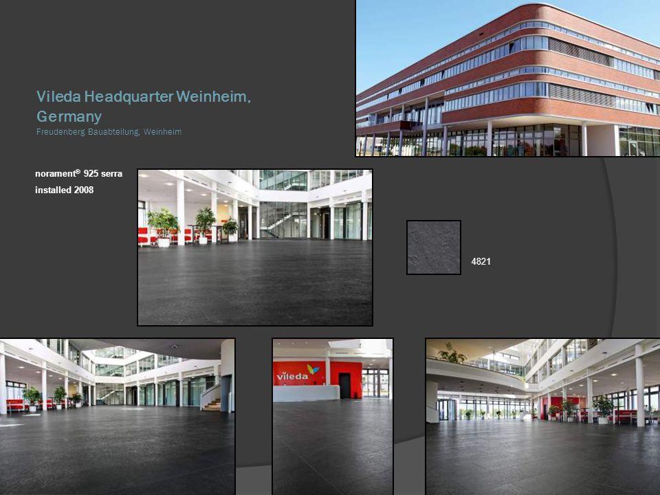 Vileda Headquarter Weinheim, Germany Freudenberg Bauabteilung, Weinheim
