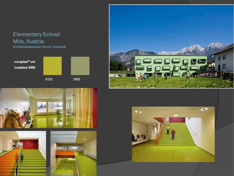 Elementary School Mils, Austria Architekturwerkstatt din a4, Innsbruck