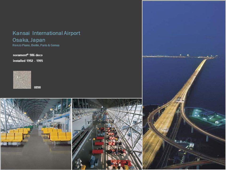 Kansai International Airport Osaka, Japan Renzo Piano, Berlin, Paris & Genua