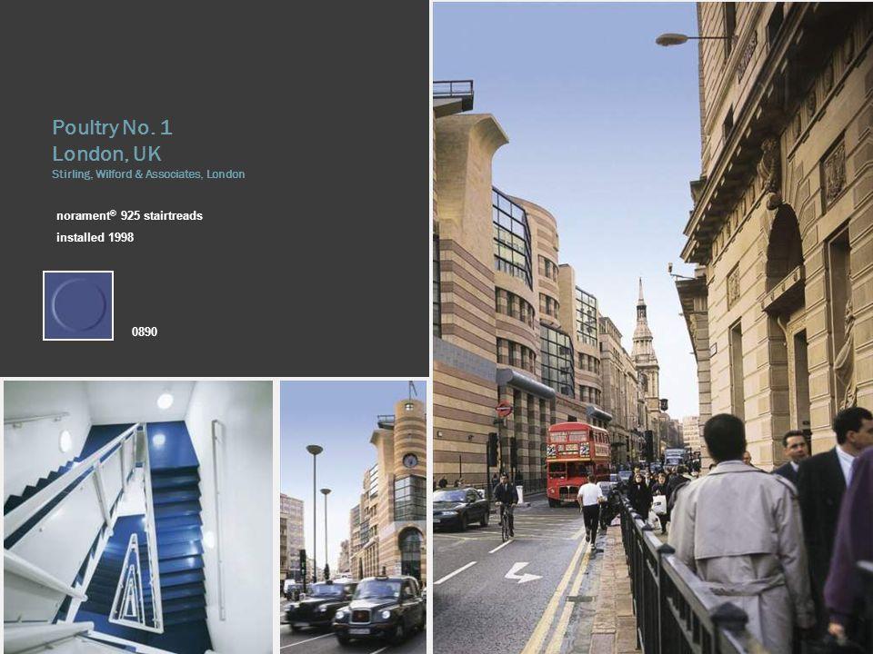 London, UK Stirling, Wilford & Associates, London