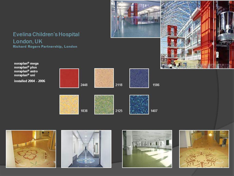 Evelina Children's Hospital London, UK Richard Rogers Partnership, London