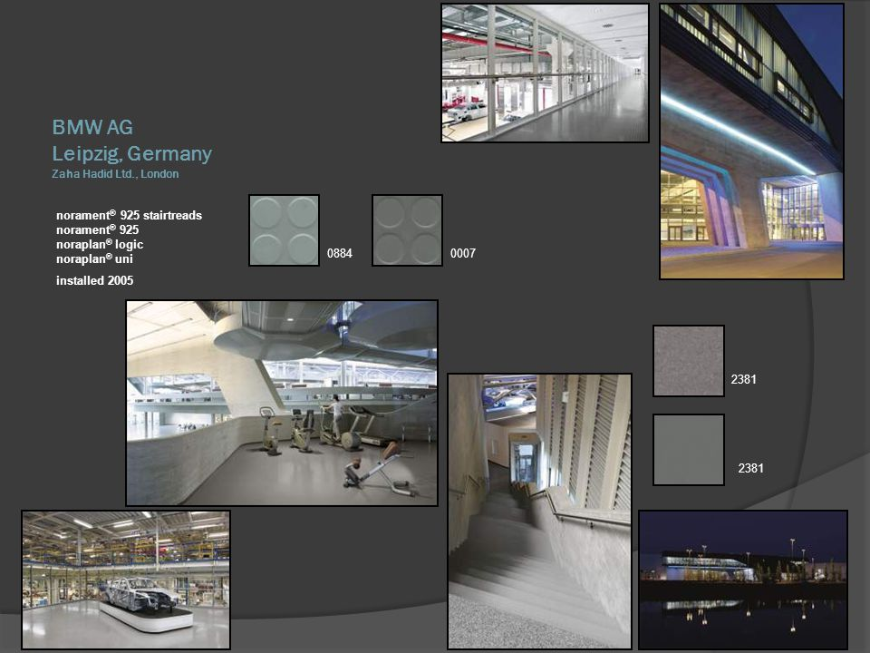 Leipzig, Germany Zaha Hadid Ltd., London