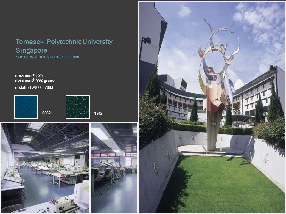 Temasek Polytechnic University Singapore Stirling, Wilford & Associates, London