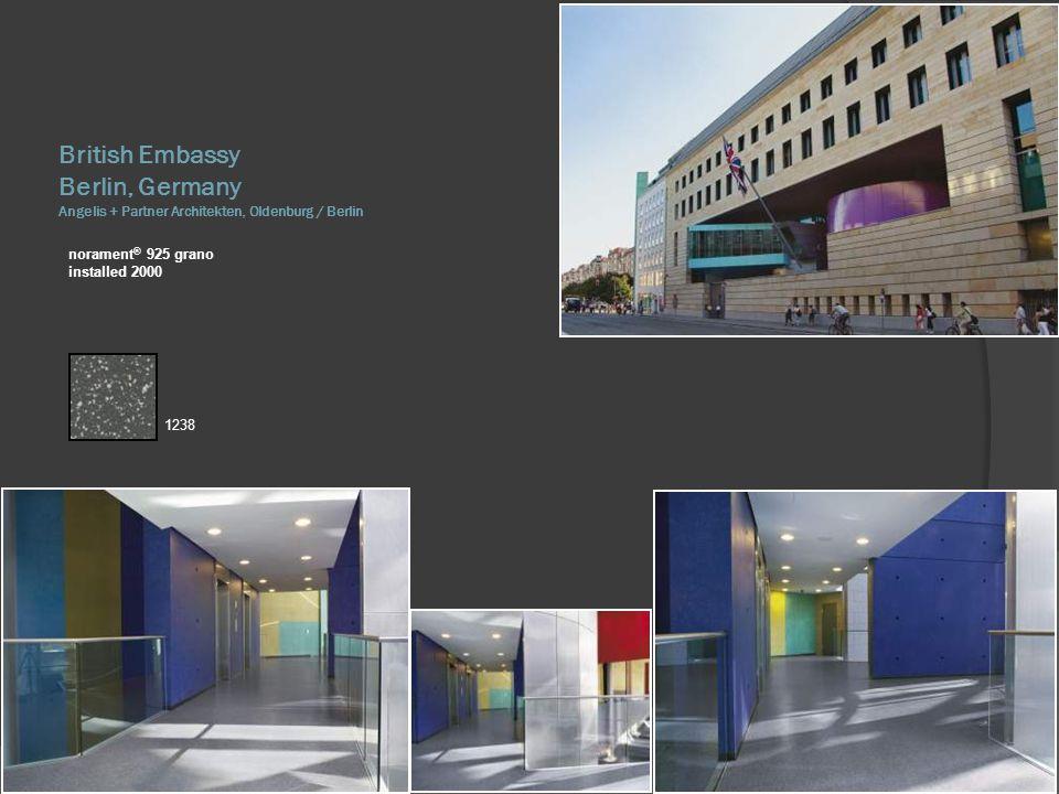 British Embassy Berlin, Germany Angelis + Partner Architekten, Oldenburg / Berlin