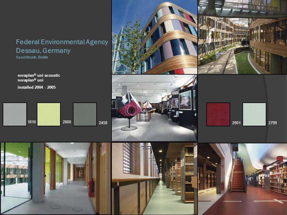 Federal Environmental Agency Dessau, Germany Sauerbruch, Berlin