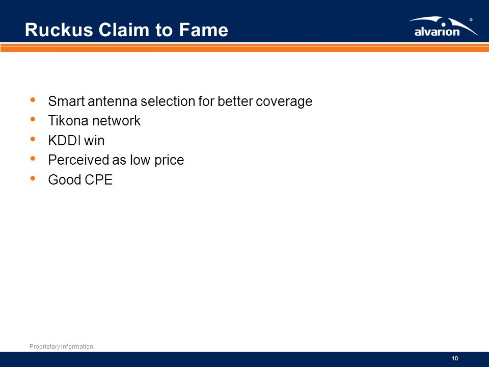 Ruckus Claim to Fame Smart antenna selection for better coverage