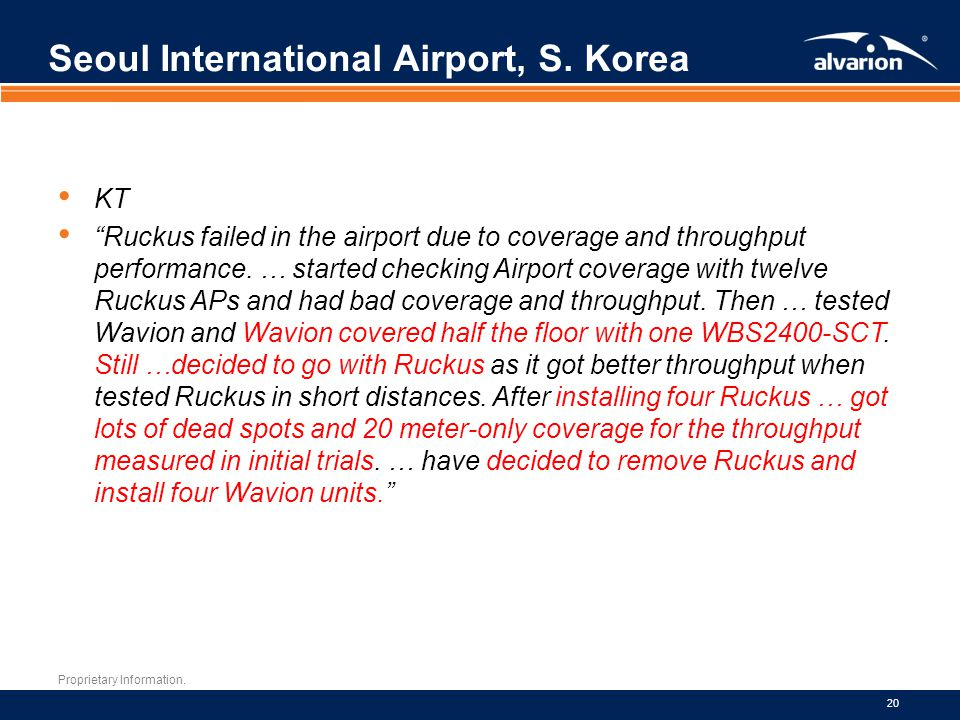 Seoul International Airport, S. Korea