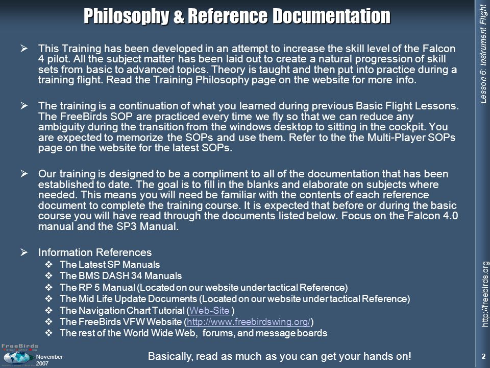 Philosophy & Reference Documentation