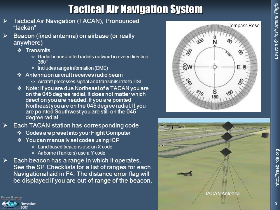 Tactical Air Navigation System