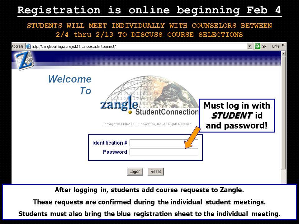 Registration is online beginning Feb 4