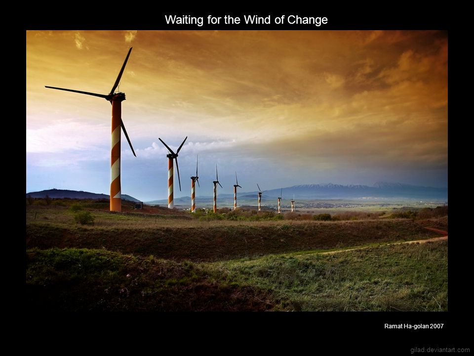 Waiting for the Wind of Change