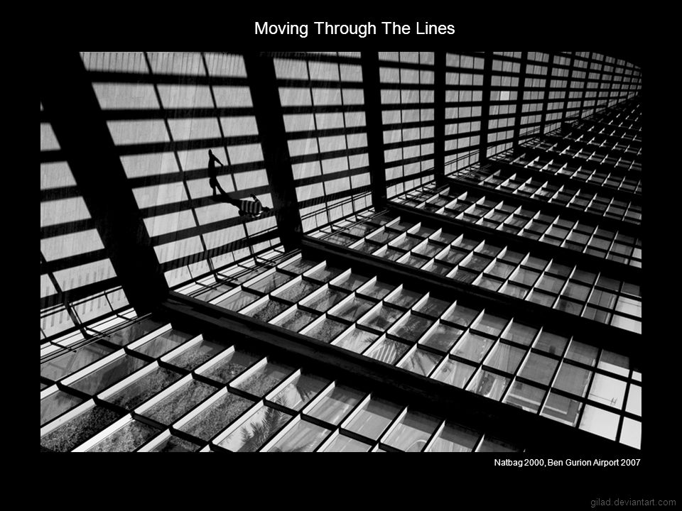 Moving Through The Lines