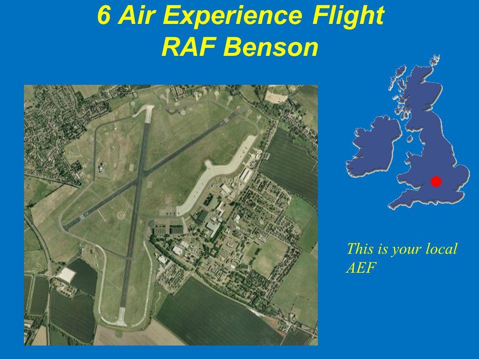 6 Air Experience Flight RAF Benson