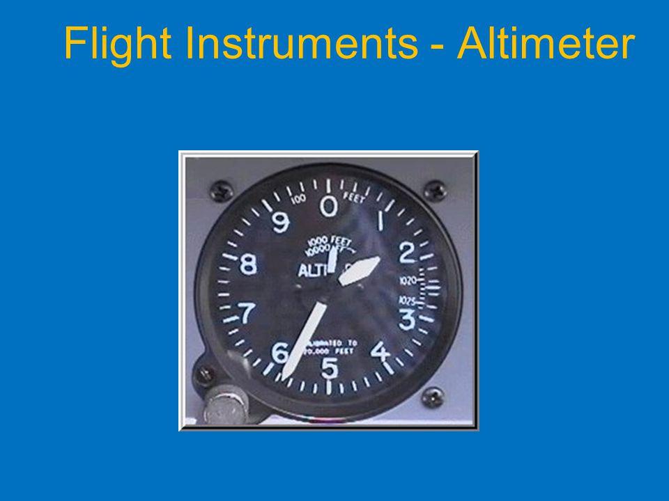 Flight Instruments - Altimeter