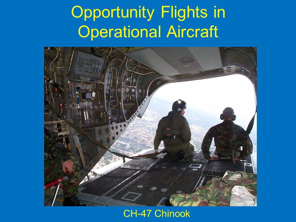Opportunity Flights in
