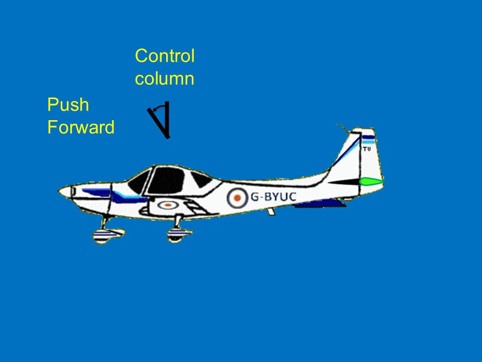 Control column Push Forward